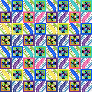 Pysanky Quilt - small