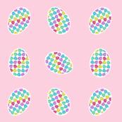 Pysanka Monstera Leaves Eggs