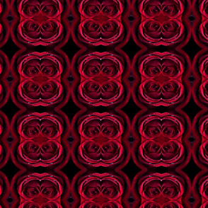 Deep Red Abstract Roses
