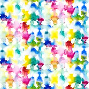 Dye Ovals vibrant