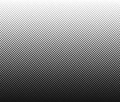 black and white one-yard gradient fabric by weavingmajor on Spoonflower - custom fabric
