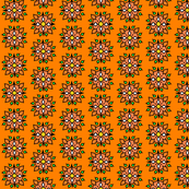 orange flower thorn
