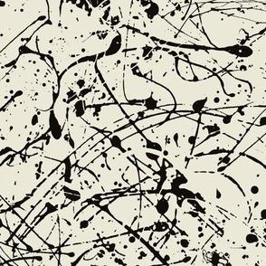 ink-black-white ivory
