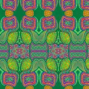 Psychotropic Plant Cells//Green