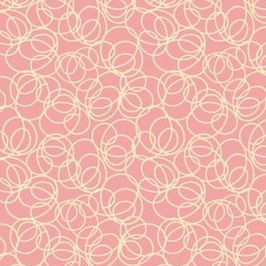 doodle loop white and pink