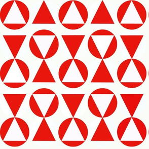 TRIANGLES ROUGES