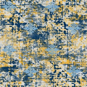 Turpentine Warp midnight-goldenrod-grey