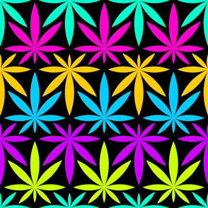 08513482 : psychedelic leaves