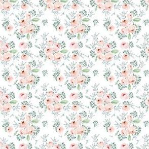 """2"""" Gable Roses White"""