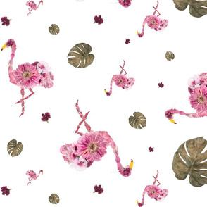 Floral Flamingle