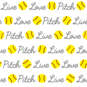 Live Love Pitch Softball