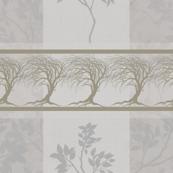 Gold Tree Grey & Beige