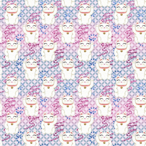 Japanese Cat Pastel