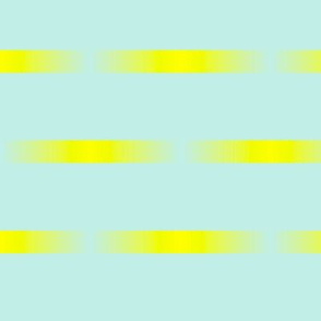 Mint and yellow pattern