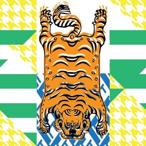 Bold Tibetian Tiger