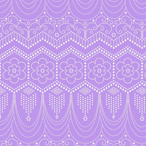 Flapper Dress Inspired Lilac