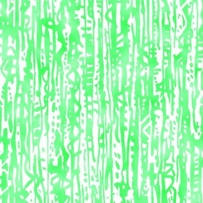 textured vertical watercolor lines in lime