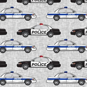 Police Car fabric - LAD19BS
