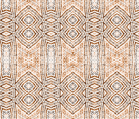 embroider blush boho fabric by wren_leyland on Spoonflower - custom fabric