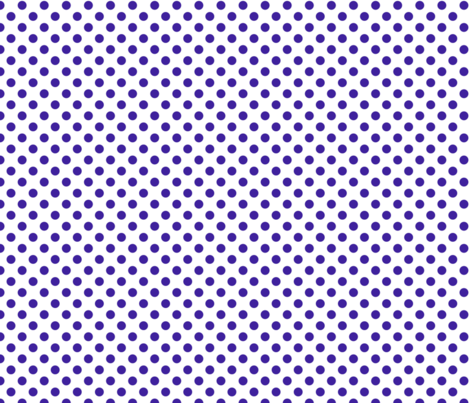Max quilt E dot white navy 1x1 fabric by leroyj on Spoonflower - custom fabric