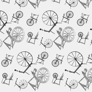 Wheel Jumble in Grey