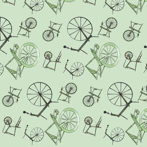Wheel Jumble in Green