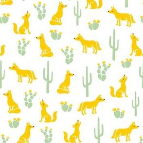 Yellow Coyote