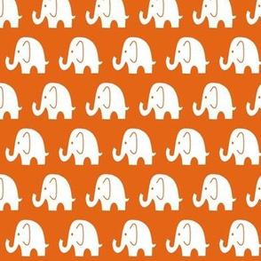 Reverse Little Orange Elephant