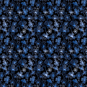Moody Blue Henna Drum