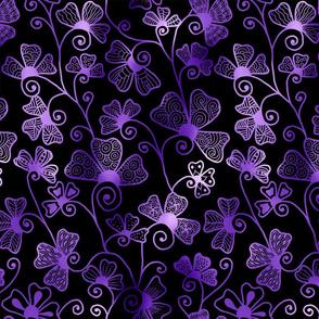 Moody Purple Henna Drum larger
