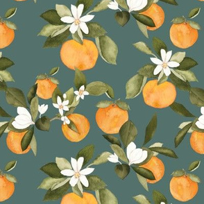 Orange Blossom Teal