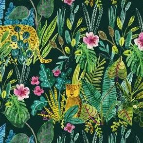 Bohemian Jungle Paradise - Emerald