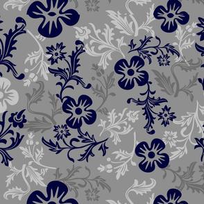 Moody Blue Botanical
