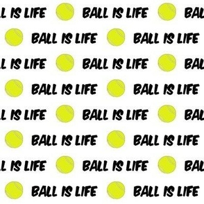 tennis - ball is life fabric