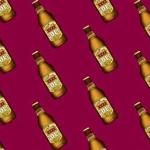xxxx beer bottle - maroon, australian, australian beer, beer, bottle, booze, alcohol