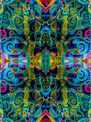 Klimt Tree of Life Scarf  #1