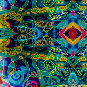 Klimt Tree of Life Scarf # 2 This Way