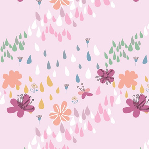 Dreamy Abstract Floral