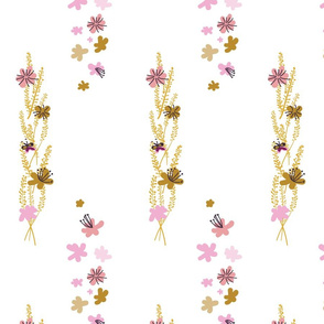 Dreamy Abstract Floral Bunches