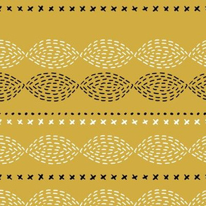 Minimal mudcloth bohemian mayan abstract indian summer aztec design summer yellow ochre