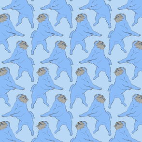 Mod LCP dancing Pugs - Blues