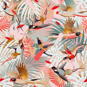 Boho Birds / Bohemian Paradise