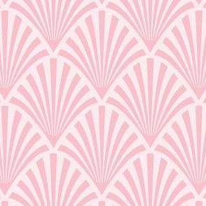 Art Deco Fans, Pink
