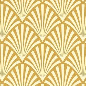 Art Deco Fans, Gold 2