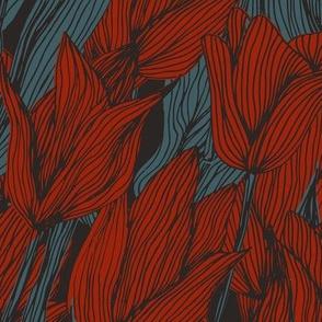 Sombre Tulips