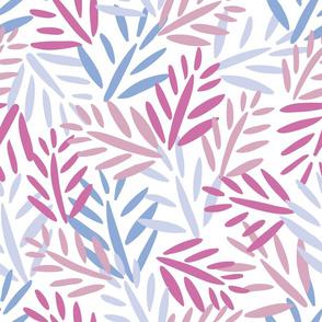 pastel  palm leaf texture