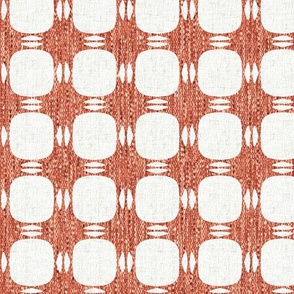 Red Textured Plaid P3a5
