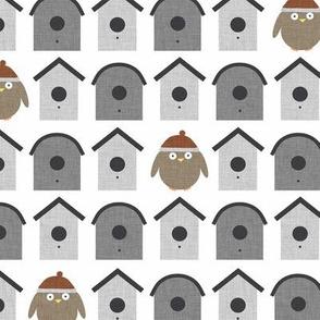 Gray Little Birdie P14a5