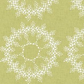 Green Lace Circles P26a3