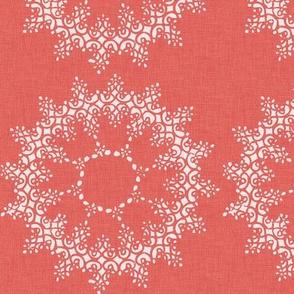 Pink Lace Circles P26a4